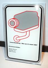 pictogramme loi camera video surveillance