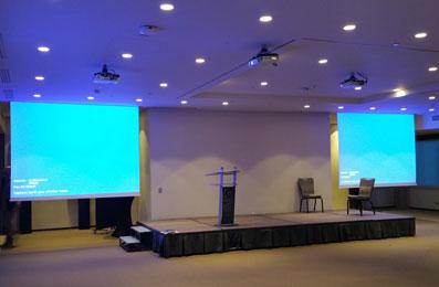 installation salle de conférence