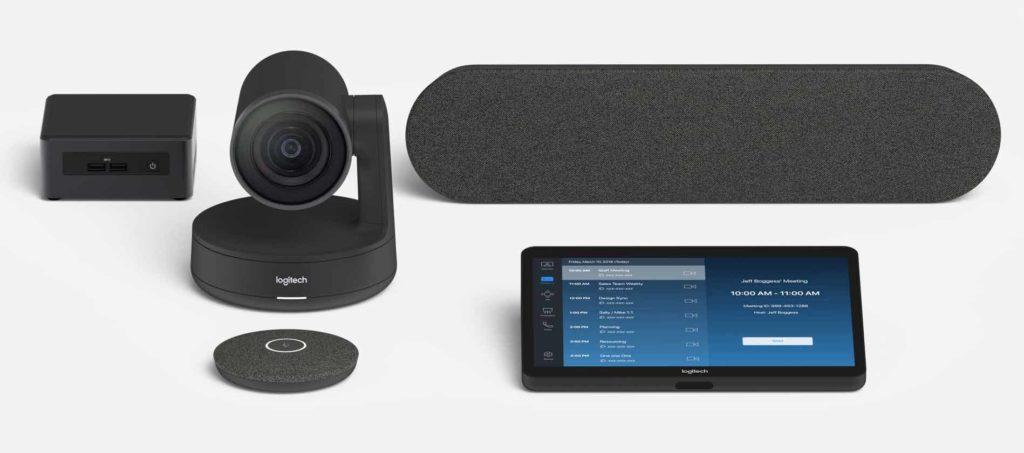 Solution de vidéo conférence pour salle de réunion moyenne , solution préconfiguré Microsoft Teams ou ZOOM