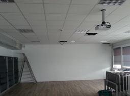 Installation projecteur vidéo